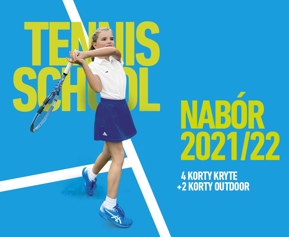 Nabór do szkółek tenisowych 2021/22